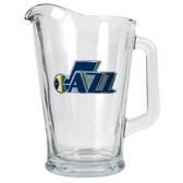 Utah Jazz 60oz Glass Pitcher