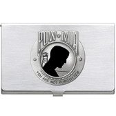 United States P.O.W. M.I.A. Business Card Case