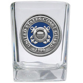 United States Coast Guard Square Shot Glass Set