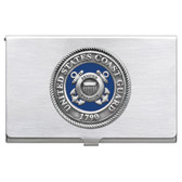 United States Coast Guard Business Card Case Set