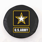 United States Army Black Tire Cover, Large