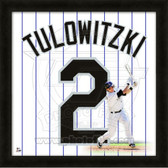 Troy Tulowitzki Colorado Rockies 20x20 Framed Uniframe Jersey Photo