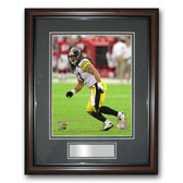 Treehugger 8x10 Unsigned Framed Photo - Pittsburgh Steelers Troy Polamalu