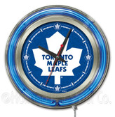 Toronto Maple Leafs Neon Clock