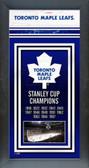 Toronto Maple Leafs Framed Championship Banner