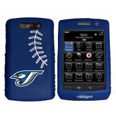 Toronto Blue Jays Cashmere Silicone Blackberry Storm Case