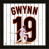 Tony Gwynn San Diego Padres 20x20 Framed Uniframe Jersey Photo