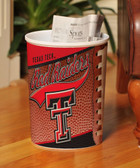 Texas Tech Red Raiders Wastebasket