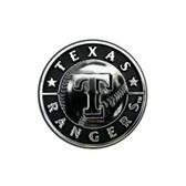 Texas Rangers Silver Auto Emblem