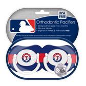 Texas Rangers Pacifiers (Set of 2)