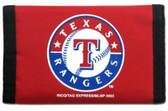 Texas Rangers Nylon Trifold Wallet