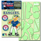 Texas Rangers Lil' Buddy Glow In The Dark Decal Kit