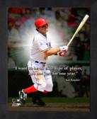 Texas Rangers Ian Kinsler 11x14 Pro Quotes