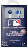 Texas Rangers Ear Buds