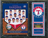 Texas Rangers 2012 Team Plaque
