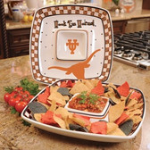 Texas Longhorns Gameday Chip & Dip Set