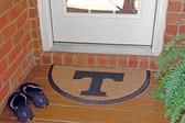 Tennessee Volunteers Half Moon Door Mat
