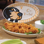 Tennessee Volunteers Gameday Ceramic Platter