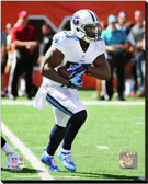 Tennessee Titans Shonn Greene 2014 Action 20x24 Stretched Canvas