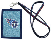 Tennessee Titans Beaded Lanyard Wallet