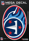 "Tennessee Titans 5""x7"" Mega Decal"