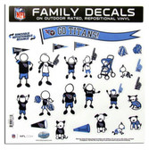 "Tennessee Titans 11""x11"" Family Decal Sheet"
