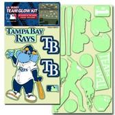 Tampa Bay Rays Lil' Buddy Glow In The Dark Decal Kit