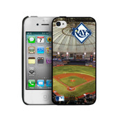 Tampa Bay Rays iPhone 4/4s Hard Cover Case PANGBBTAMIP4BP2