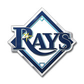 Tampa Bay Rays Color Auto Emblem - Die Cut