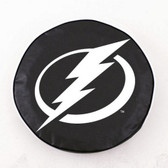 Tampa Bay Lightning Black Tire Cover, Large