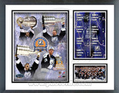 Tampa Bay Lightning 2004 Stanley Cup Winners Milestones & Memories Framed Photo