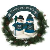 "Tampa Bay Devil Rays 20"" Team Snowman Wreath"