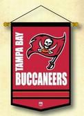 "Tampa Bay Buccaneers Wool 12""x18"" Mini Banner"