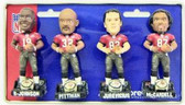 Tampa Bay Buccaneers Super Bowl 37 Champ Forever Collectibles Mini Bobble Head Set