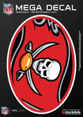 "Tampa Bay Buccaneers 5""x7"" Mega Decal"