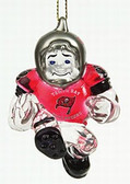 "Tampa Bay Buccaneers 3"" Crystal Halfback Ornament"