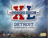 Super Bowl XL Logo 8X10 Photo