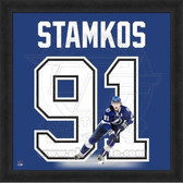 Steven Stamkos Tampa Bay Lightning 20x20 Framed Uniframe Jersey Photo
