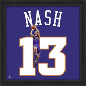 Steve Nash Phoenix Suns 20x20 Framed Uniframe Jersey Photo