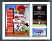 Stephen Strasburg Washington Nationals MLB Debut Milestone and Memories Framed Photo