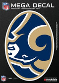 "St. Louis Rams 5""x7"" Mega Decal"