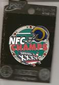 St. Louis Rams 2002 NFC Champions Pin