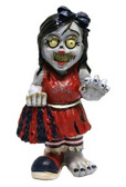 St. Louis Cardinals Zombie Cheerleader Figurine