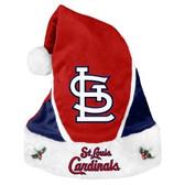 St. Louis Cardinals Santa Hat - Colorblock 2014