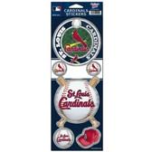 St. Louis Cardinals Prismatic Stickers