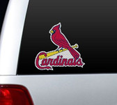 St. Louis Cardinals Die-Cut Window Film - Large
