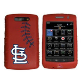St. Louis Cardinals Cashmere Silicone Blackberry Storm Case