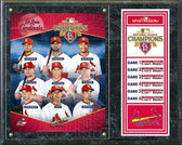 St. Louis Cardinals 2011 National League Champions Composite Plaque