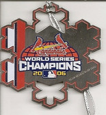 St. Louis Cardinals 2006 World Series Champions Snowflake Ornament