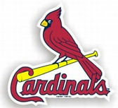 "St. Louis Cardinals 12"" Car Magnet"